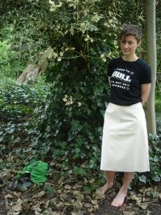 A-Line Skirt Toile