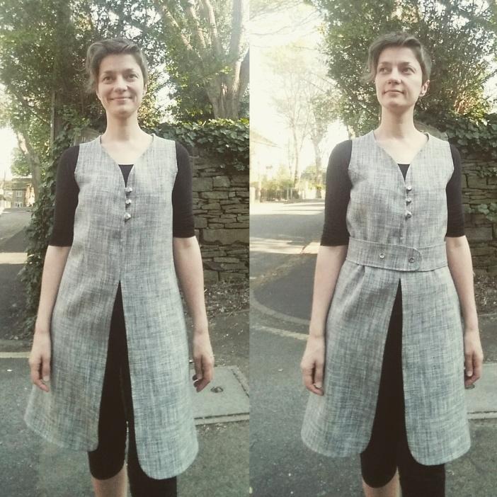 Jean Muir Jumper Dress #1