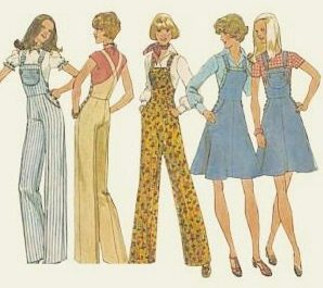 vintage dungaree pattern