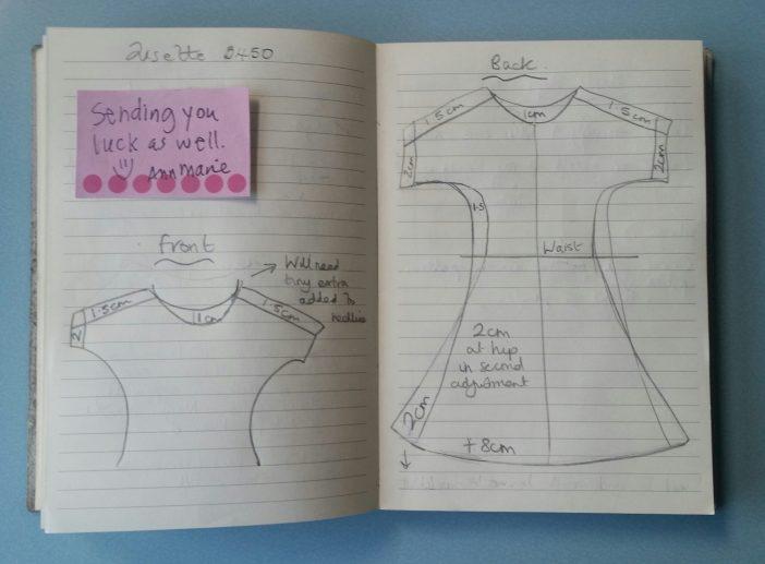 Lisette Portfolio Dress- sewing plans