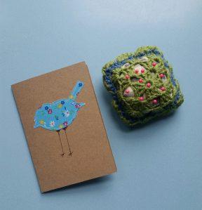 a pin cushion and pattern