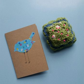 a pin cushion and pattern