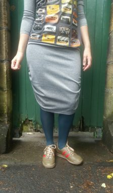 Roewood Jersey Pencil Skirt
