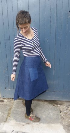 Wendy Ward Fishtail Skirt